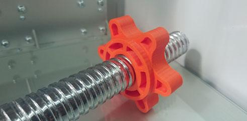 3D-tulostettu käsipainon lukko PLA