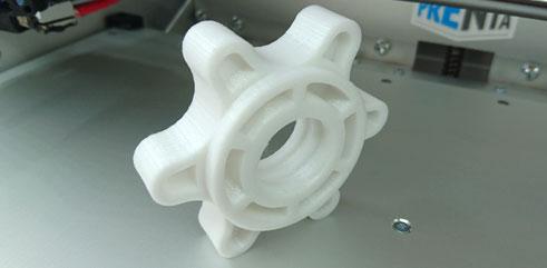3D-tulostettu käsipainon lukko
